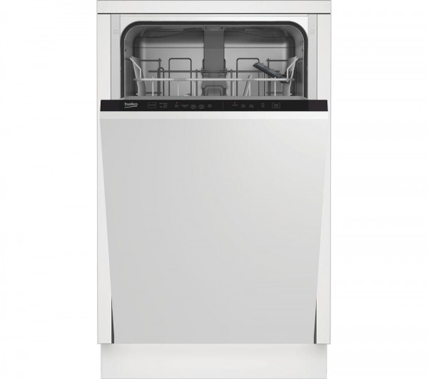 Beko DIS15012 45cm Integrated Dishwasher