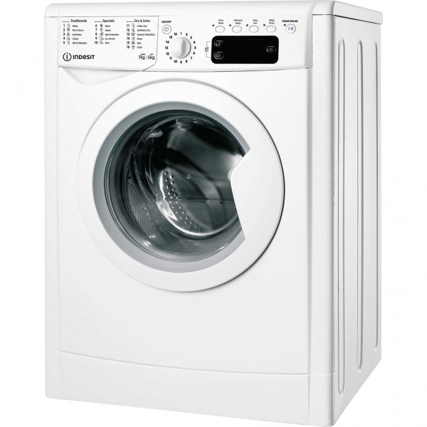 Indesit Washer Dryer IWDD75145UKN 1400 spin 7kg wash 5kg dry