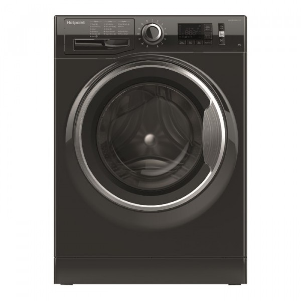 Hotpoint ActiveCare NM11946BCA 9kg 1400rpm Washing Machine - Black