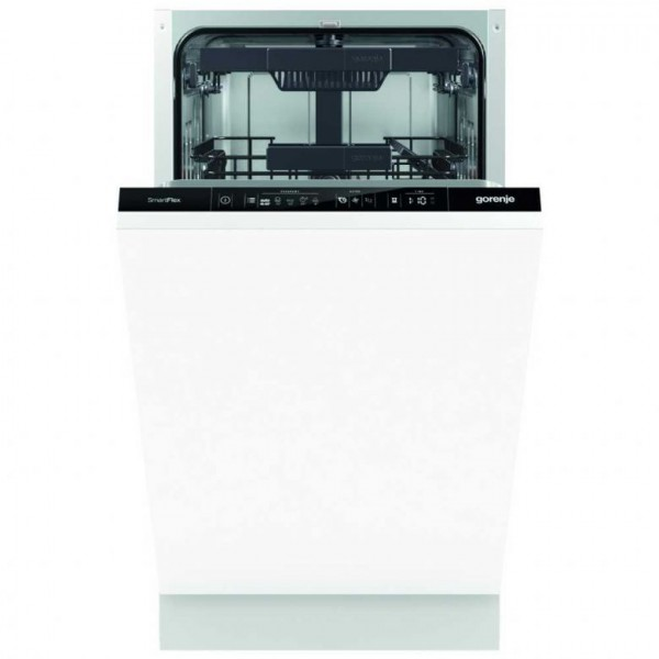 Gorenje GV55110UK A++ rated slimline built in dishwasher GV55110 45cm slim dishwasher