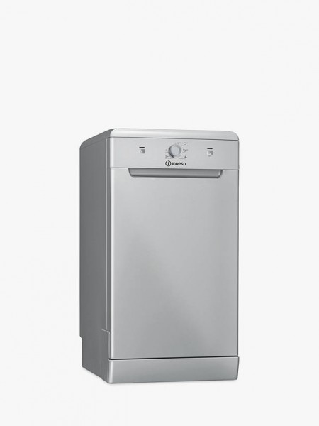Indesit DSFE1B10S 45CM Freestanding Silver Dishwasher