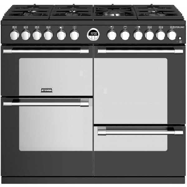 Stoves Sterling 100df Black Range Cooker