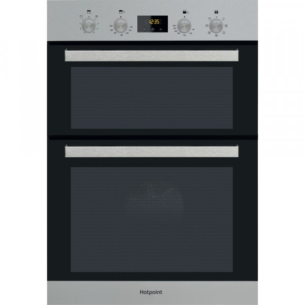 Hotpoint built in double oven DKD3841IX