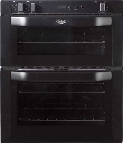 Belling BI70FPBLK Built Under Double Oven
