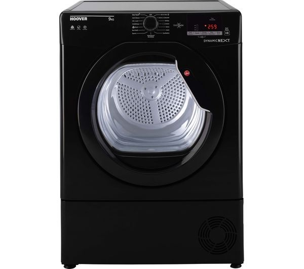 Hoover DXC9DGB 9kg DYNAMIC Condenser Tumble Dryer in Black B Rated NFC