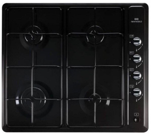 New World NWGHU601BLK Built in Gas Hob
