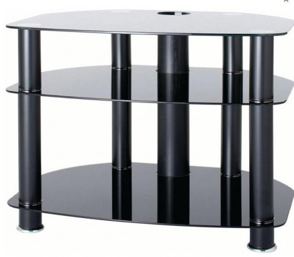 AVCR32-3BLK glass stand