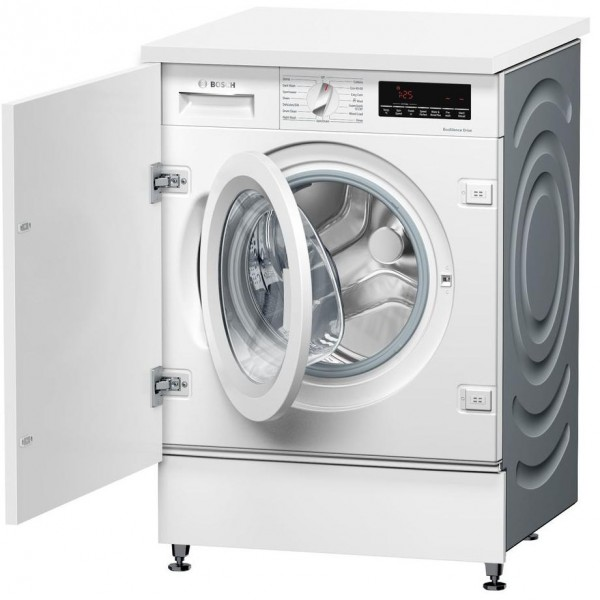 Bosch built in washer 1400 spin 8kg wash load WIW28501GB