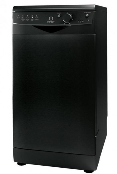 Indesit DSR15BK Black Slimline dishwasher