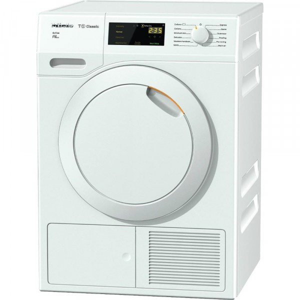 Miele T1 - Classic TDB230 White Condenser Dryer with Heat Pump Technology