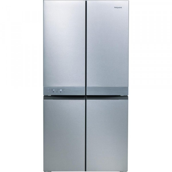 Hotpoint HQ9E1L French Style 4 Door Jupiter Fridge Freezer - STAINLESS STEEL