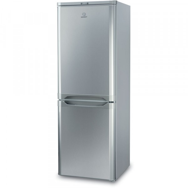 Indesit Silver Fridge Freezer IBD5515S1