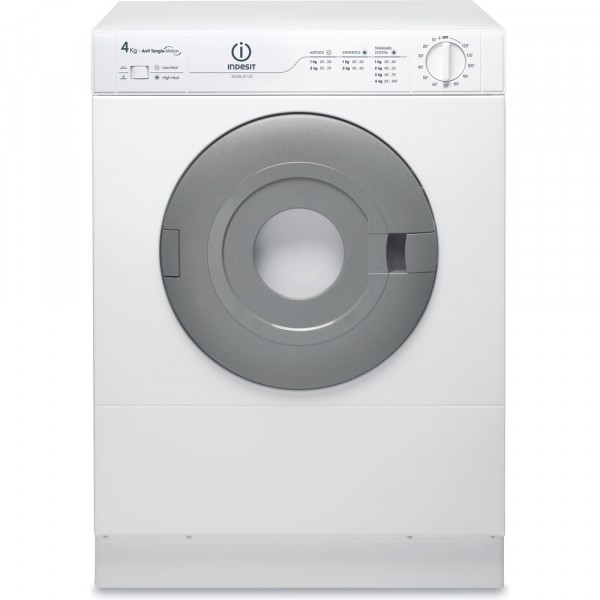 Indesit NIS41V Compact 4kg load vented tumble dryer