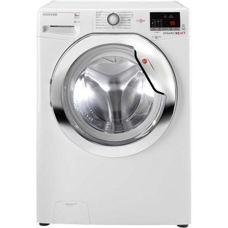 Hoover DXOC58AC3 8kg 1500 Spin Washing Machine - White - A+++ Rated