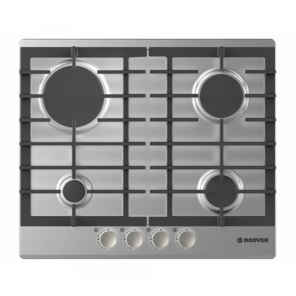 Hoover HGH64SCEX Gas hob with manual control knobs