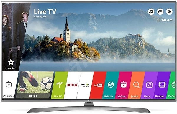 "LG 43UJ750V 43"" 4K smart TV"