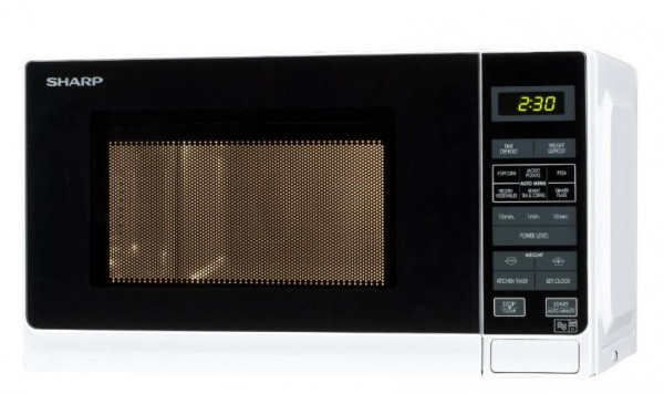 Sharp R272WM White 800w 20litre Microwave Oven