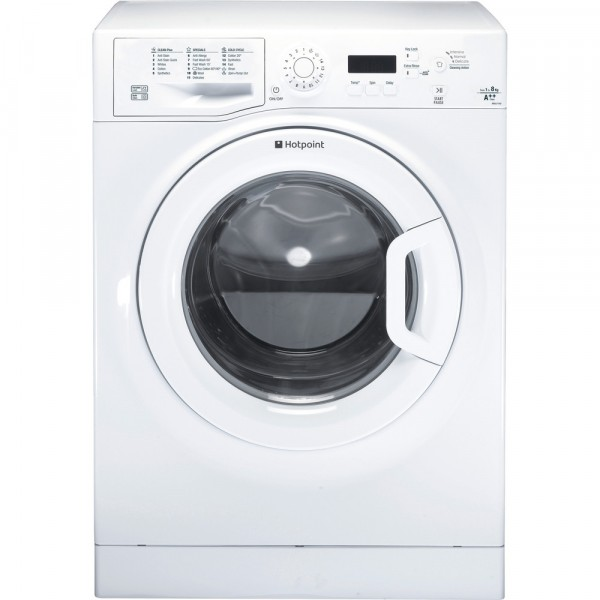 Hotpoint 1400 spin 8kg washer WMJLF842P with15 min quick wash program