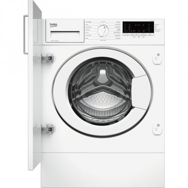 Beko built in washer WTIK72111 NEW C Energy rated