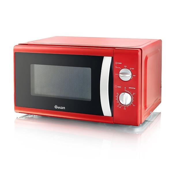 Swan SM40010REDN red microwave oven