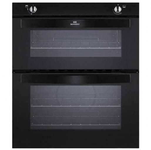 Newworld NW701GBLK Built Under Twin Cavity Gas Oven