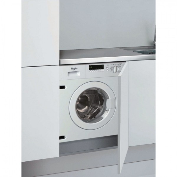 Whirlpool AWOE7143 1400spin 7kg Built In Washer 15 min quick wash
