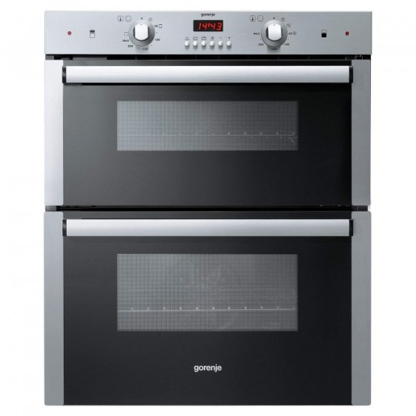 Gorenje BDU2116AX Stainless Steel Built under Double Oven 2 Year Warranty