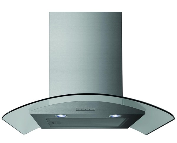 STATESMAN CGH60GS 60cm Curved Glass Cooker Hood
