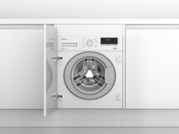 Blomberg LWI284410 8kg 1400 Spin Built In Washing Machine - White - NEW C Energy rated