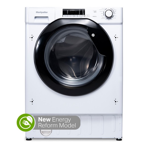 MONTPELLIER MIWD75 1400SPIN 7.5KG WASH 5KG DRY INTEGRATED WASHER DRYER