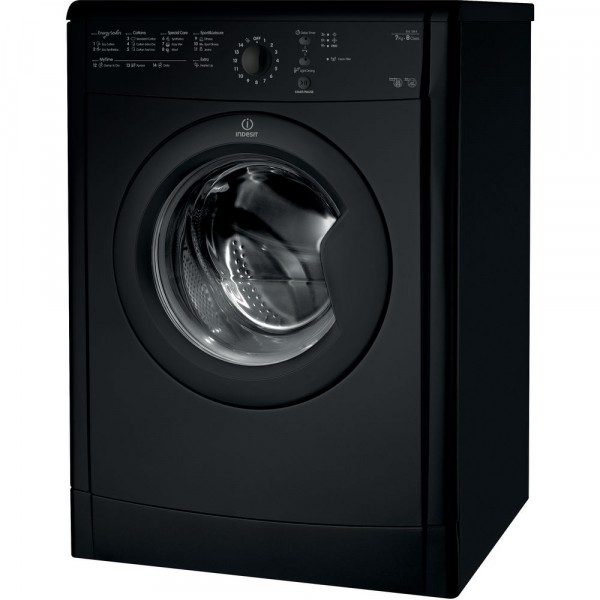 Indesit IDVL75BRK 7kg Black Vented Dryer