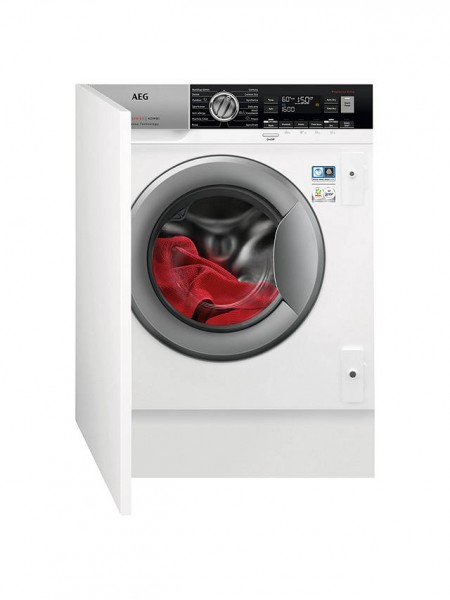 AEG L7WC8632BI Integrated Washer Dryer, 8kg Wash/4kg Dry Load,1600 Spin , A Energy Rating