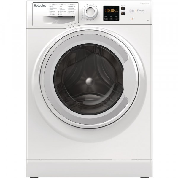 Hotpoint washer NSWM963CWS 1600 spin 9kg load