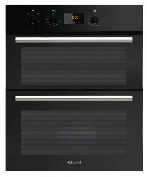 Hotpoint DU2540BL Built under double oven in Black
