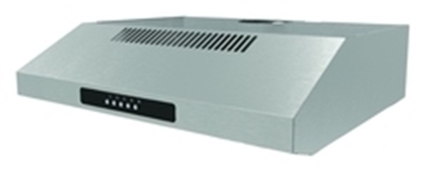 60cm Visor Cooker Hood in stainless steel VH60SS - TOP VENT ONLY