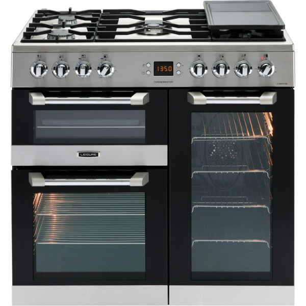 Leisure range cooker CS90F530X 90cm stainless steel