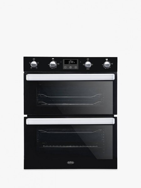 Belling BI702FP Black Built Under Double Oven
