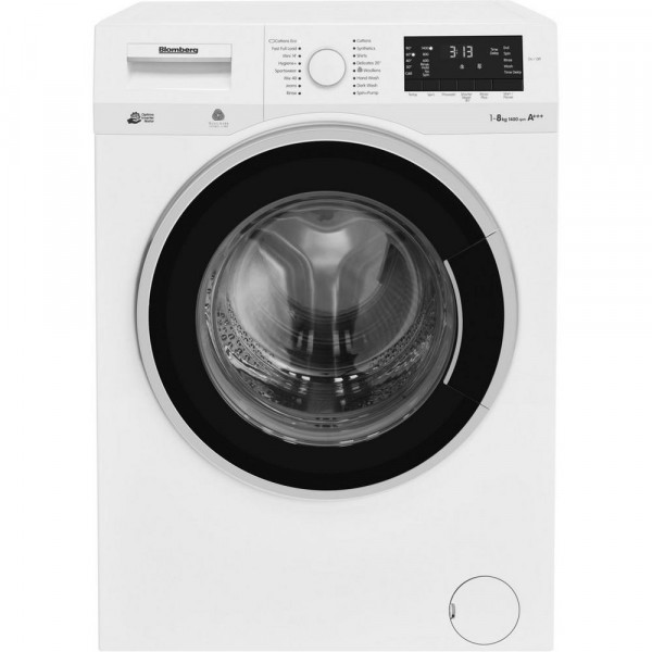 Blomberg LWF284411W 8 kg 1400 Spin Washing Machine - White - A+++ Energy Rated