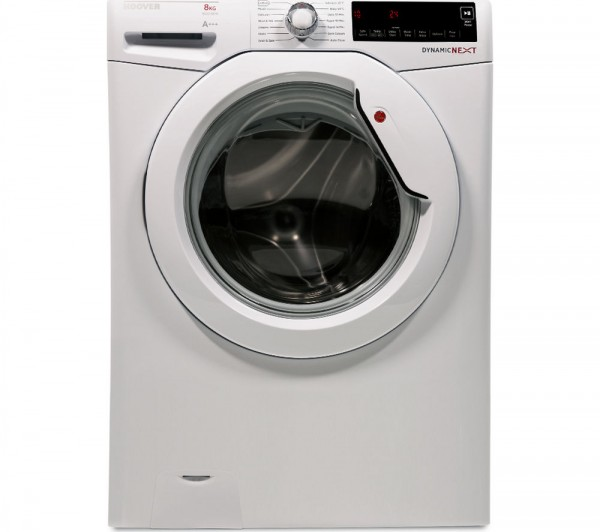 Hoover DXA68W3 1600 spin 8Kg washing machine