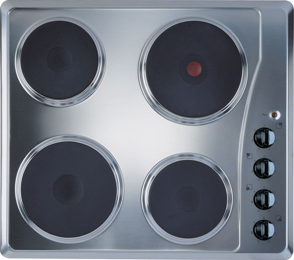 Indesit TI60X Solid Plate Hob