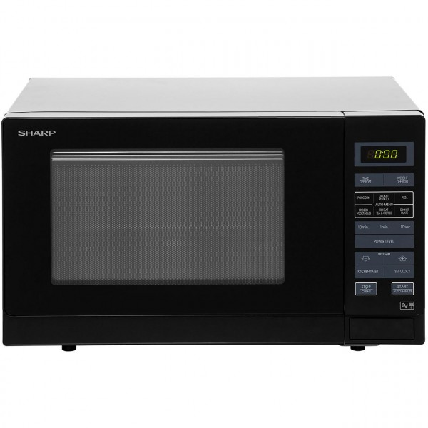Sharp R372KM Black Microwave Oven