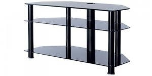 AVCR42-3BLK glass stand