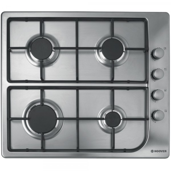 HOOVER HGL64SX STAINLESS STEEL GAS HOB