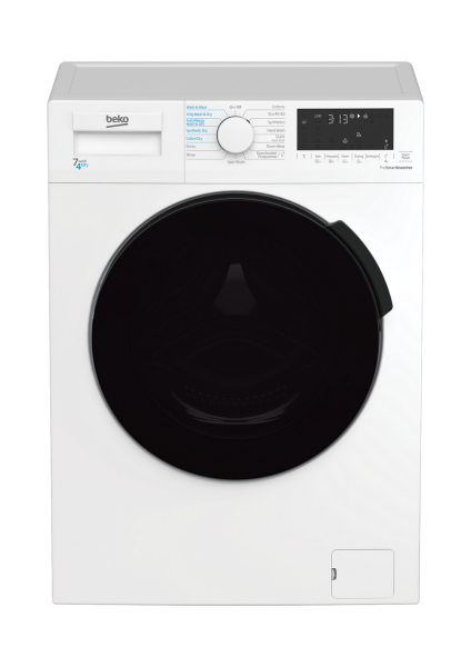 Beko Washer Dryer WDL742441W New E Energy Rating