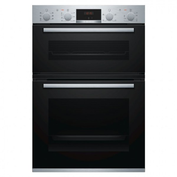 Bosch MBS533BS0B Built-in brushed steel double oven