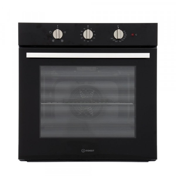 IND-IFW6330BL Built in Black Single oven