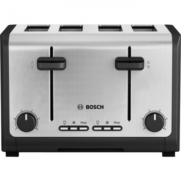 Bosch TAT6A643GB  Stainless Steel 4 slice toaster