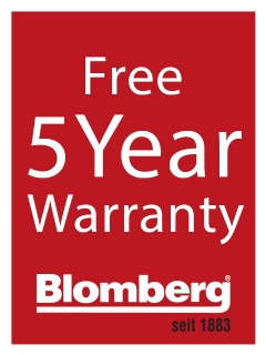 Blomberg5YearWarranty