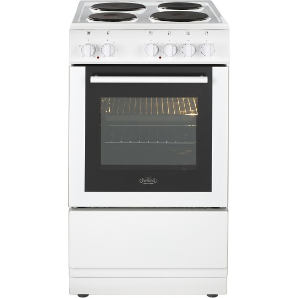 Belling FS50ESWHI 50cm Single Electric Cooker