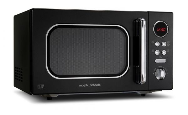 Morphy Richards 511510 Black Microwave Oven